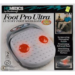 HOMEDICS FOOT PRO ULTRA FOOT MASSAGER WITH HEAT