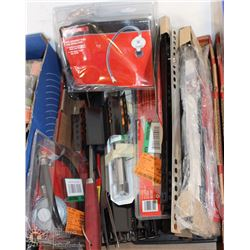 FLAT OF ASSORTED BBQ ACCESSORIES