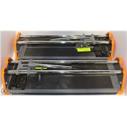 PAIR OF HDX TILE CUTTERS, 1 MISSING BLADE