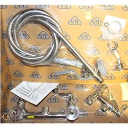 "NEW T & S B-0175 8"" WALL MOUNT SPRAY ASSEMBLY"