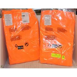 PAIR OF SIZE SMALL HI-VIZ FOX CREEK JACKETS