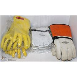 6 ASSORTED PAIRS OF SALISBURY GLOVES