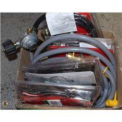 FLAT OF REPLACEMENT HOSES AND REGULATORS