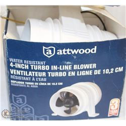 "ATWOOD 4"" BLOWER 12V"