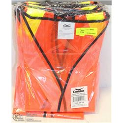 10 CONDOR SAFETY VEST, ALL OVERSIZE