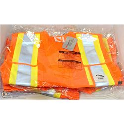 4 SMALL CONDOR SAFETY VESTS