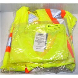 2 CONDOR SAFETY VESTS AND 1 CONDOR WORK SHIRT