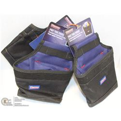 SET OF 3 WESTWARD POLY TOOL POUCHES
