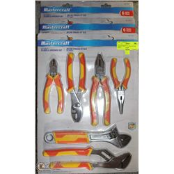 LOT OF THREE 6PC MULTI PLIER SETS