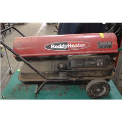 REDDY HEATER KEROSENE FORCED AIR HEATER