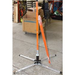 QUADRA-FLEX-V PORTABLE TRAFFIC CONTROL SIGN STAND