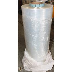 "LARGE ROLL OF SHRINK-WRAP 19.5"" X UNKNOWN LENGTH"