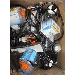LOT OF ASSORTED POND/FOUNTAIN PUMPS