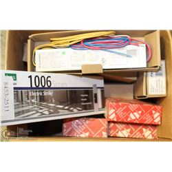 LOT OF ELECTRONIC BALLASTS + ELECTRIC DOOR CLOSER