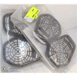 2 PAIRS OF SCOTT'S REPLACEMENT RESPIRATORS-742