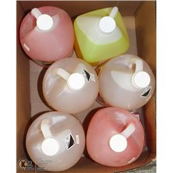 6 ASSORTED 4L JUGS OF CLEANING AGENTS