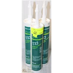 3 TUBES RTV 732 MULTI-PURPOSE SEALANT