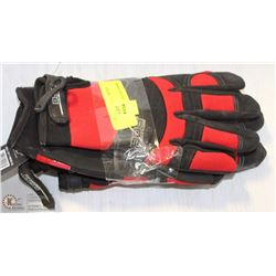 2 PAIRS OF XL BOB DALE WORK GLOVES