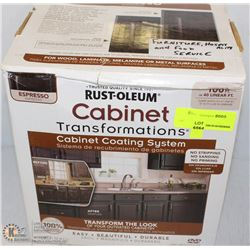 NEW RUST-O-LEUM CABINET COATING SYSTEM