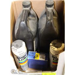 LOT OF ASSORTED LUBRICANTS