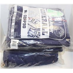 3 BUNDLES OF SUPERIOR DISPOSABLE COVERALLS W/