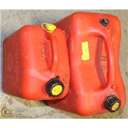 LOT OF 2 JERRY CANS