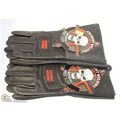 "PAIR OF ANARCHY WELDING ""HOT ROD"" ALL-LEATHER"