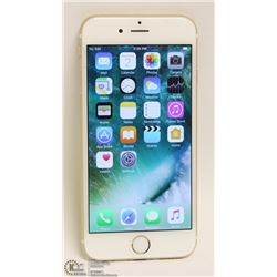 APPLE iPHONE 6 16GB GOLD FOR BELL