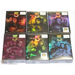 COMPLETE SEASON & MOVIE SEALED BABYLON 5  DVD SETS