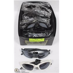 BOX OF YOUTH DESIGNER SUNGLASSES ON CHOICE