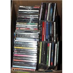 EXTRA LARGE BOX OF ASSORTED CD'S
