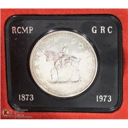 1973 CANADA SILVER DOLLAR COIN IN RCM CASE