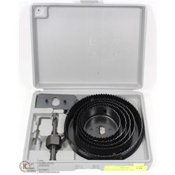 HOLE SAW KIT WITH CASE