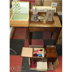 KENMORE C714.1020 SEWING MACHINE W/ ATTACHMENTS