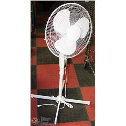 ADJUSTABLE HEIGHT 3 SPEED FLOOR FAN WITH AUTO