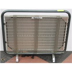 OLD FLAT GREEN HEATER