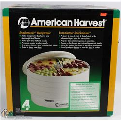 AMERICAN HARVEST SNACKMASTER 4 TRAY DEHYDRATOR