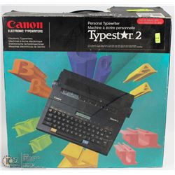 CANON ELECTRIC TYPESTAR2 PERSONAL TYPEWRITER
