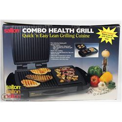 SALTON COMBO HEALTH GRILL QUICK N EASY LEAN GRILL
