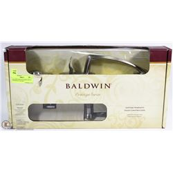 BALDWIN PRESTIGE SERIES FRONT ENTRANCE LOCK SET