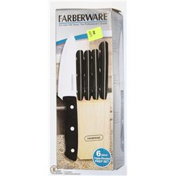 FARBERWARE KNIFE SET