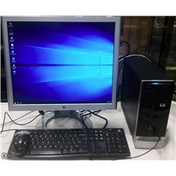 HP SLIMLINE DESKTOP W/WIN 10 PRO/MS OFFICE 16
