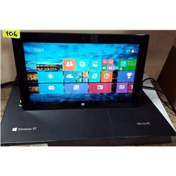 "MICROSOFT SURFACE 10.6"" TOUCHSCREEN 32GB SSD/WIN 8"