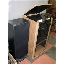 7)SONY STEREO SYSTEM WITH CABINET