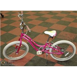 GIRLS PINK TREK MYSTIC BIKE