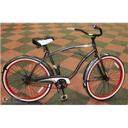 "HUFFY CRANBROOK CRUISER BIKE WITH 26"" TIRES"