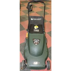 "32) B&D 4.0HP ELECTRIC MOWER WITH BAG (19""BLADE)"