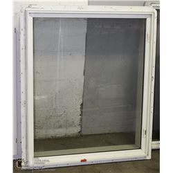 "WINDOW WITH FRAME 38""L X31""W, (2'X6' FRAME)"