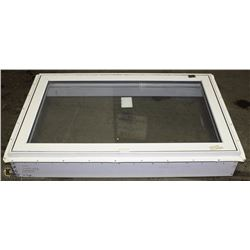 "48"" LONG X30""WIDE WINDOW WITH FRAME 2'X6'"