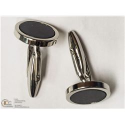 9- STERLING SILVER MEN'S CUFFLINKS